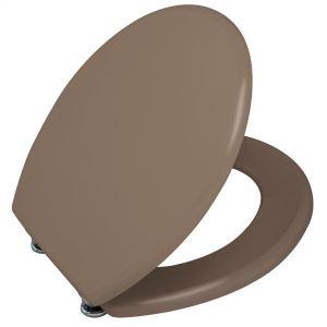 Gilac Abattant WC de toilette Vert Pistache standard en bois MDF avec charnieres inox - GILAC