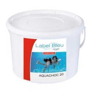 Procopi 8802110 - Aquachoc 20 : Chlore choc en pastilles 20 g - 10 kg