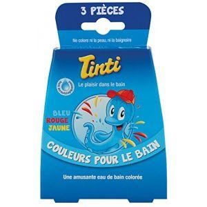 Tinti Couleurs pour le bain (3 sachets)
