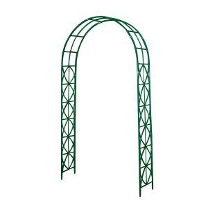 Intermas Gardening 190103 - Arche de jardin Arabesque Arch 1,20 x 0,30 x 2,20 m