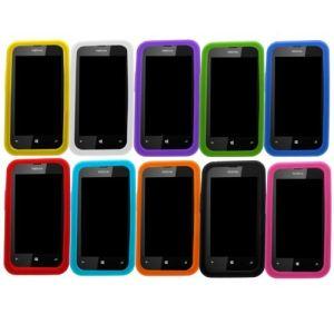 Samrick 000000030 - Lot de 10 coques en silicone pour Nokia Lumia 520