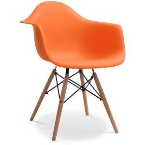 chaise orange comparer 1993 offres. Black Bedroom Furniture Sets. Home Design Ideas