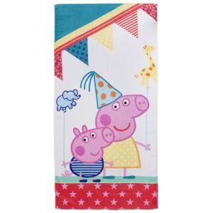 Character World Serviette de bain Peppa Pig Funfair (70 x 140 cm)