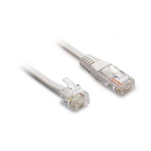 Metronic 495229 - Cordon te%u0301le%u0301phonique RJ11 / RJ45
