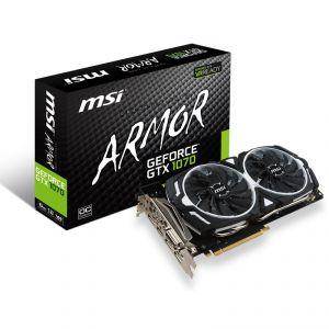 MSI GTX 1070 ARMOR 8G OC - Carte graphique GF GTX 1070 8 Go GDDR5 PCIe 3.0 x16