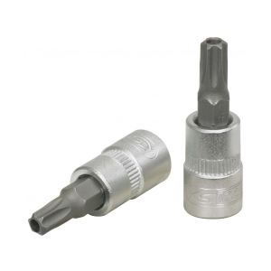 "KS Tools 911.1466 - Douille tournevis 1/4"" Torx percé T27 L.37 mm"