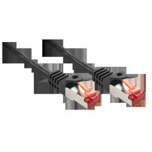 Lindy 47378 - Câble réseau Basic Cat.6 S/FTP, noir, 10m
