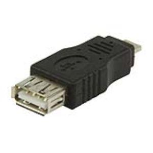 Valueline VLCP60903B - Adaptateur USB 2.0 type A femelle vers micro USB A mâle