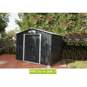 Duramax Titan - Abri jardin métal 6,31 m²