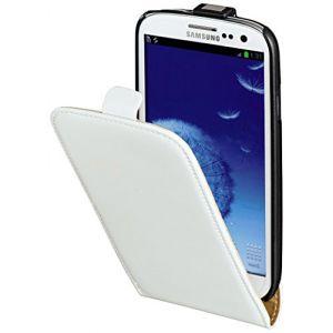 Hama 103545 - Étui à rabat en cuir pour Samsung Galaxy S3