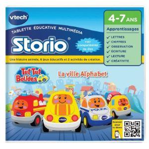 Vtech Jeu tablette Storio 2 et générations suivantes : Tut Tut Bolides La ville Alphabet