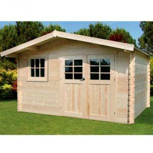 abri de jardin en bois 9m2 comparer 122 offres. Black Bedroom Furniture Sets. Home Design Ideas