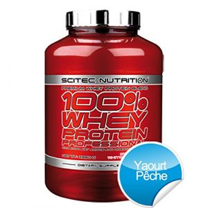 Scitec nutrition 100% Whey Protein Professional - Peche Yaourt 2350g