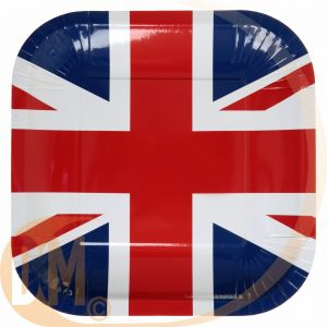 10 assiettes collection Angleterre (23 cm)