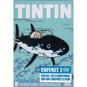 Coffret Tintin : 6 aventures, Coffret n°1
