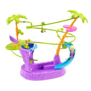 Mattel Polly Pocket - Piscine et Toboggan