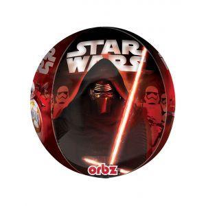 Ballon en aluminium Personnages Star Wars VII (38 x 40 cm)