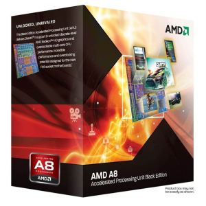 AMD A8-3870K Black Edition (3,0GHz) - Socket FM1 (AD3870WNGXBOX)