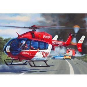 Revell 04897 - Hélicoptère Airbus EC145 DRF Luftrettung - Maquette échelle 1:32