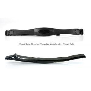High-Tech Place MCAARCCP01 - Montre cardio avec ceinture pectorale