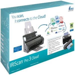 Iris IRIScan Pro 3 Cloud - Scanner à défilement 50 pages USB 2.0