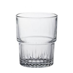 Duralex Empilable - 6 gobelets en verre (16 cl)
