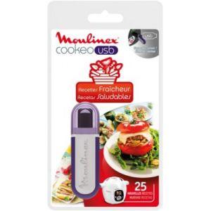 Moulinex XA600511 - Clé USB 25 recettes fraîcheur pour Cookéo