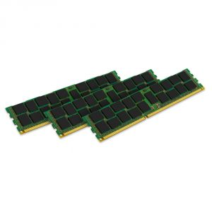 Kingston KVR18R13S4K3/24 - Barrettes mémoire ValueRAM 3 x 8 Go DDR3 1866 MHz CL13 DIMM 240 broches