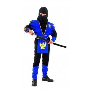 Déguisement ninja bleu garçon (11-14 ans)