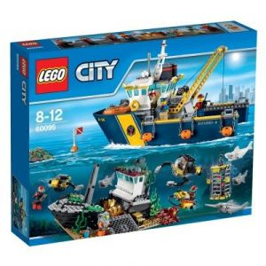 Lego 60095 - City : Bateau d'exploration