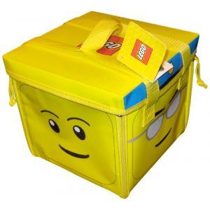 Lego Sac de rangement et tapis de jeu tête ZipBin