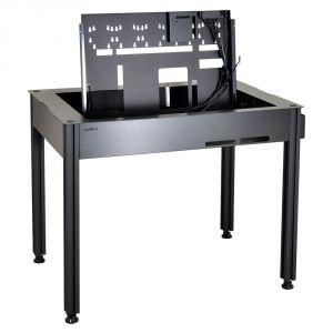 Lian Li DK-Q2 - Bureau / boîtier PC en aluminium avec fenêtre