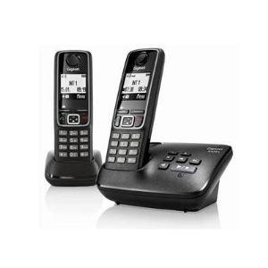 Gigaset A420A Duo - Téléphone sans fil avec répondeur 2 combinés