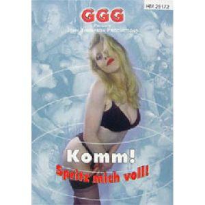 DVD - réservé GGG Komm Spritz Mich Voll