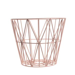 Ferm Living Corbeille à papier Wire Basket medium (40 x 50 cm)