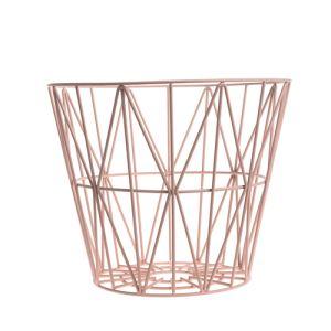 Ferm Living Corbeille à papier Wire Basket medium (40 x 50 cm)