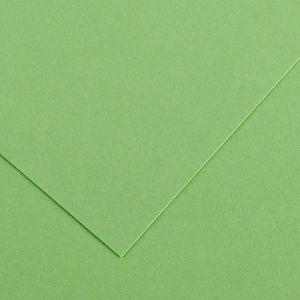 Canson 200040380 - Feuille Iris Vivaldi 50x65 240g/m², coloris vert pomme 27