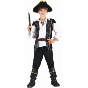 Déguisement pirate garçon noir