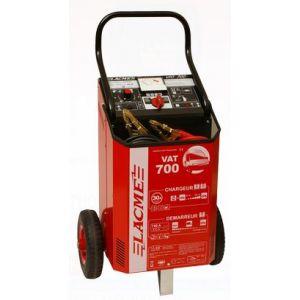 Lacme VAT 700 - Chargeur Démareur traditionnel avec variateur et télécommande pour batteries 12V