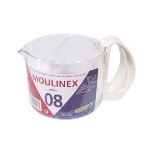 Moulinex 340008 - Verseuse en verre pour cafetière 6 tasses