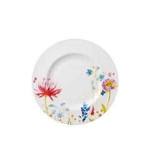 Villeroy & Boch Anmut Flowers - 6 assiettes plates en porcelaine (27 cm)