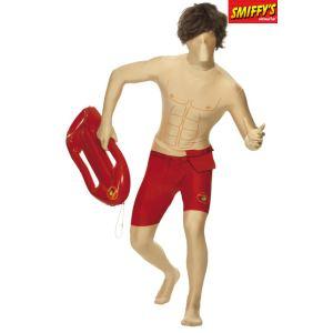 Smiffy's Déguisement seconde peau Alerte à Malibu (taille M ou L)