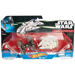 Mattel Hot Wheels - Star Wars: The Force Awakens Tie Fighter Vs. Millennium Falcon