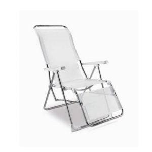 Eredu Fauteuil relax 5 positions en aluminium