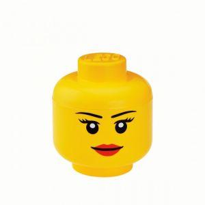 Lego Boîte de rangement Tête (taille S - 19,5 cm)