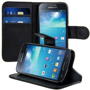 Kwmobile 14312 - Housse en cuir avec fermeture aimantée pour Samsung Galaxy S4 Mini I9190 / I9195