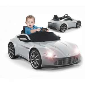 Feber Voiture électrique Aston Martin pour enfant 6 V