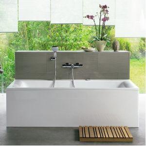 Ideal Standard Connect - Baignoire rectangulaire nue avec trop plein caché (170 x 75 cm)