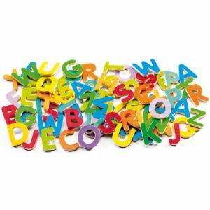 Djeco Lettres en bois magnétiques 83 pièces