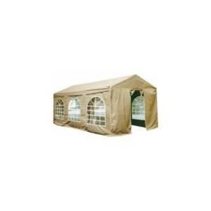 Cross Outdoor 49236 - Tonnelle de réception avec structure en acier et toile polyester 5 x 8 x 2,60 m